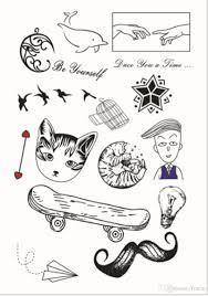 мужчины и женщины типа водонепроницаемый дизайн татуировки паста нетоксичный
