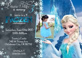 13 Frozen Invitation Free Frozen Party Invitation Instant
