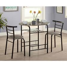 bistro table set 3 piece dining for 2 furniture chair kitchen coffee small space