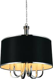 black drum chandelier crystal world 6 orchid light shade in chrome cover