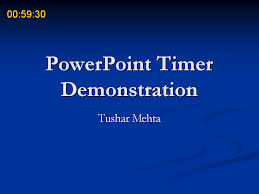 Countdown Clock For Powerpoint Presentation Powerpoint Timer Add In