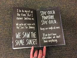 Ponyboy Quotes Fascinating Fancy The Outsiders Quotes Ideas Kerbcraftorg