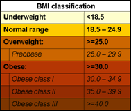 Who What Is Overweight And Obesity