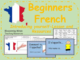 French lesson and resources -KS2- Introducing yourself/saying your ...