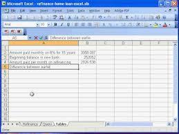 refinance calculations loan refinance calculator excel tsfedcu