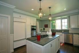 image of nice kitchen soffits crown molding