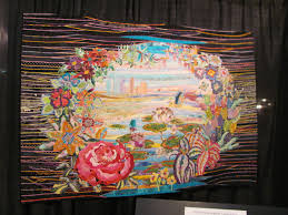 Houston International Quilt Festival 2015 | Lori's Weblog & Represents the Houston skyline. Adamdwight.com