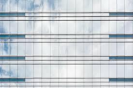 office glass windows. Office Glass Windows Background \u2014 Stock Photo