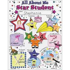 Star Student Pocket Chart Ready To Decorate All About Me Star Student Posters