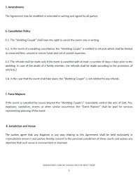 Event Coordinator Contract Template Events Agreement Event Planner ...