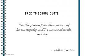 Quotes Letter Back To School Quote Notebook Letter Template Postermywall