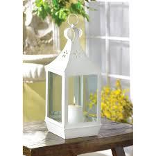 Wholesale White Candle Lantern Large White Hanging Patio Candle