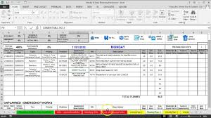 3 Prepare Weekly Maintenance Plan