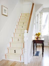 Living Room : Staircase Wall Decorating Ideas Hall Stairs And ..
