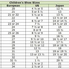 Childrens Size 29 Shoe Conversion All About The Best Shoes