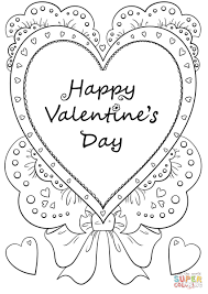 Coloring pages kids free valentine coloring pages for. Valentines Day Coloring Sheets Madalenoformaryland