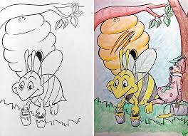 funny children coloring book corruptions 31