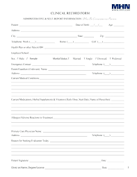 Pet Information Template Pet Health Record Template Excel