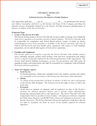 Company Contract Template Business Contract Template Resume Name 11