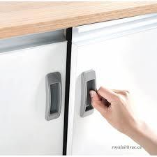2pcs in door handles pvc recessed windows pull sliding door handles bedroom door cabinet handle