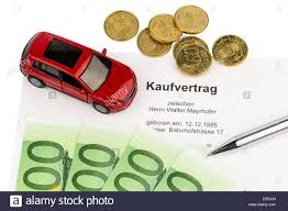 A Bill Of Sale For An Autopurchase With The Car Dealer New