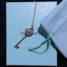 tiffany heart key pendant luxury