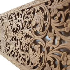 relief carved wooden wall art panel throughout wood renovation india