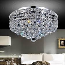 sparkling transitional round decoration minimalist brizzo flush mount crystal lighting functionally polished elegance luxury