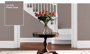 Taupe Paint Colors Living Room 2017 Sherwin Williams Color Of The Year Poised Taupe