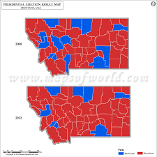 2012 Election Chart Montana Election Results 2016 Map County Results Live