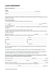 Personal Loan Forms Free Cool Personal Loan Documents Template New Business Contract Free
