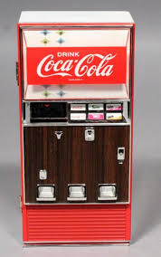 Original Coke Vending Machine Inspiration CocaCola Coke Diecast Metal Collectible Musical Vending Machine