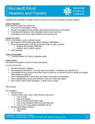 Microsoft Lesson Plans Microsoft Word 2007 Lesson Plans Worksheets Reviewed By Teachers