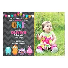 Lil Monster Birthday Invitations Lovely Monster Birthday Party Invitations Or Little Monster Birthday