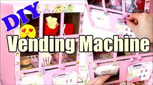 How To Make A Squishy Vending Machine Classy DIY Squishy Vending Machine Tutorial Cardboard Homemade Видео
