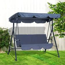 wooden outdoor modern ideas medium size garden swing seats furniture with canopy porch swings