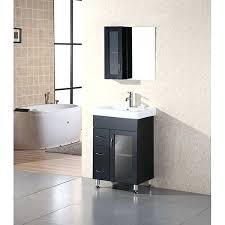 24 modern vanity modern bathroom vanity belvedere 24 inch modern white bathroom vanity with ceramic countertop