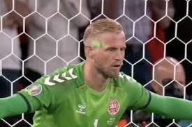 Denmark goalkeeper Kasper Schmeichel ...