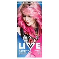 Morrisons Schwarzkopf Live Intense Colour 093 Shocking Pink