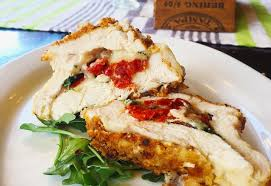easy dinner ideas for two romantic. stuffed chicken with sundried tomatoes, spinach, and cheese | dinner ideas for two easy romantic
