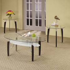 contemporary glass coffee tables end tables  new modern