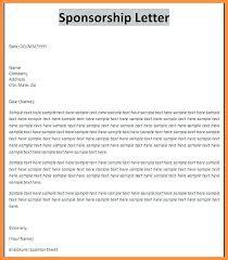 Sample Letter For Event Proposal Proposal Request Letter Printable Sponsorship Letter Template Event