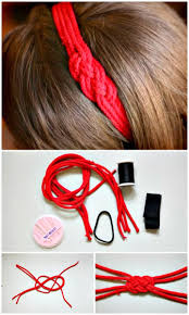 diy nautical knot headbands from old shirts pictures photos