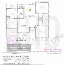 Small 5 Bedroom House Plans 5 Bedroom House Elevation With Floor Plan Kerala Home Design And