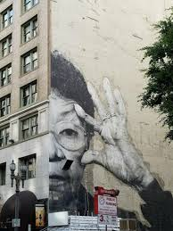 woman with glasses mural on wall mural artist los angeles with my photo collection of los angeles street art and murals