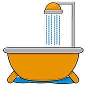 shower head clipart. Shower Head; Bathtub With Head Clipart