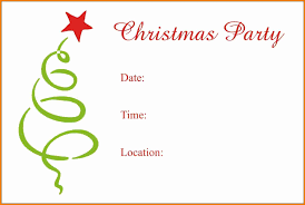 Free Party Invitation Template Word Christmas Party Invitation Templates Free Word Best Bussines Template 5