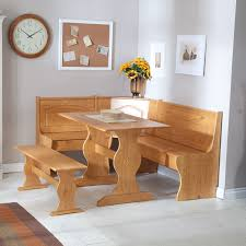 Built In Bench Kitchen Table With Built In Bench Trends Including Corner And