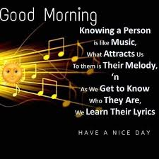 Good Morning Music Quotes Best Of Good Morning Morning Quote S Pinterest Morning Greetings