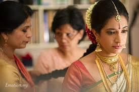 kerala malee wedding ceremony bride makeup msia
